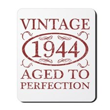 Vintage 1944 Birth Year Mousepad