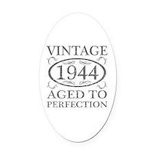 Vintage 1944 Birth Year Oval Car Magnet