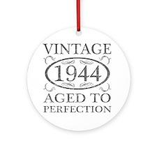 Vintage 1944 Birth Year Round Ornament