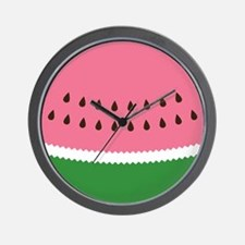 Abstract Watermelon Wall Clock