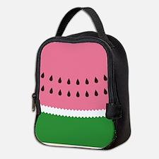 Abstract Watermelon Neoprene Lunch Bag