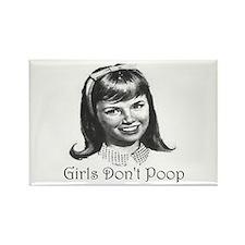 Girls Don't Poop Magnets