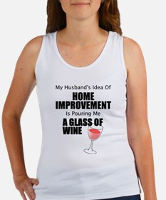 Home Improvement Female Tank Top