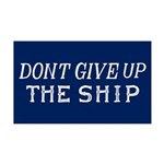 Commodore Perry Flag Wall Decal