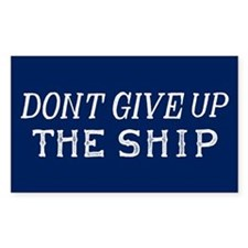 Commodore Perry Flag Decal