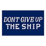 Commodore Perry Flag Sticker