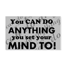 CAN DO Inspirational Saying Wall Sticker