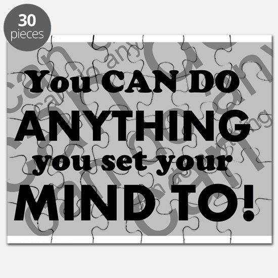 CAN DO Inspirational Saying Puzzle