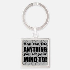 CAN DO Inspirational Saying Keychains