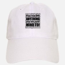 CAN DO Inspirational Saying Baseball Baseball Cap