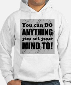 CAN DO Inspirational Saying Jumper Hoody