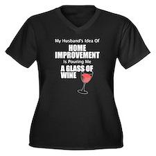 Home Improvement Female White Plus Size T-Shirt