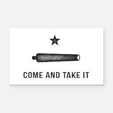 Gonzales Flag Rectangle Car Magnet