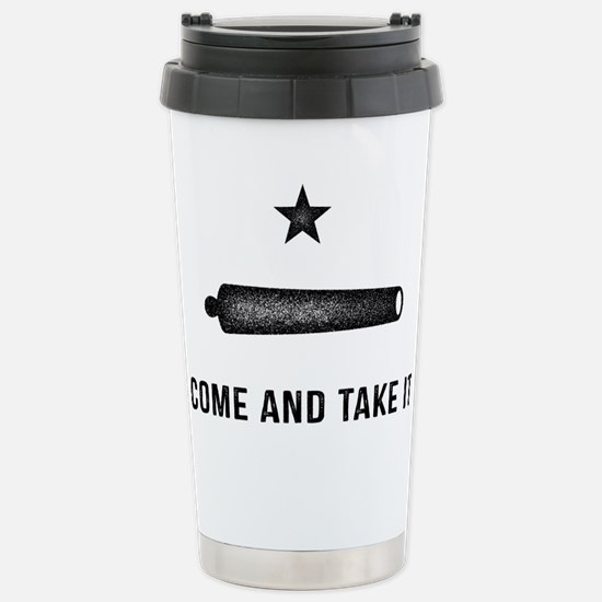 Gonzales Flag Travel Mug