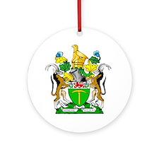 RHODESIA  Round Ornament
