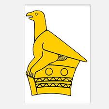 ZIMBABWE BIRD Postcards (Package of 8)