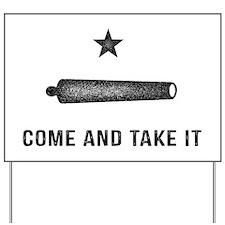 Gonzales Flag Yard Sign