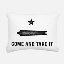 Gonzales Flag Rectangular Canvas Pillow