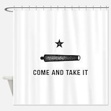 Gonzales Flag Shower Curtain