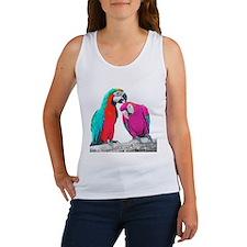 Colorful Parrots Tank Top