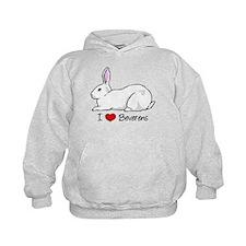 I Heart Beveren Rabbits Hoodie