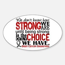 Brain Cancer How Strong We Are Decal