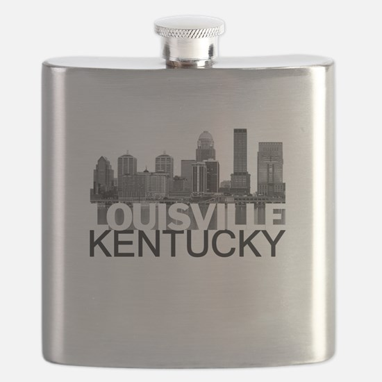 Louisville Kentucky Skyline Flask