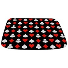 Poker Symbols Bathmat