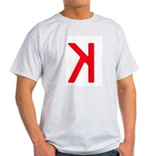 Strikeout Looking (backwards K) T-Shirt