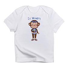 Lil Monkey Girl w Ice Cream Cone Infant T-Shirt