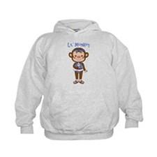 Lil Monkey Girl w Ice Cream Cone Hoodie
