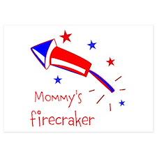 Personalize Firecracker Invitations