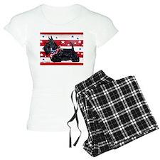 American Scottie Pajamas