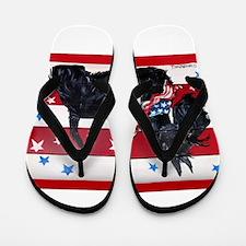 American Scottie Flip Flops