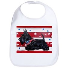 American Scottie Bib