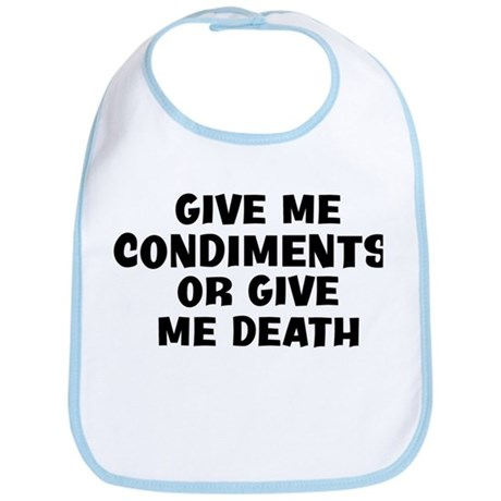 Give me Condiments Bib