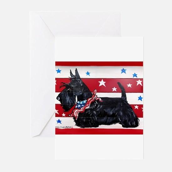 American Scottie Greeting Cards