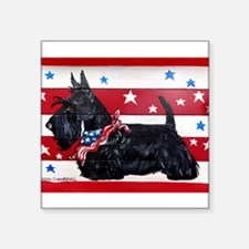 American Scottie Sticker