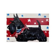 American Scottie Magnets