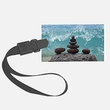 Meditation Luggage Tag