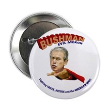 "Anti Bush 2.25"" Button (10 pack)"