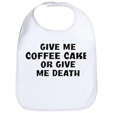 Give me Coffee Cake Bib