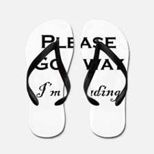 Please Go Away Im Reading Flip Flops