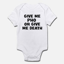 Give me Pho Infant Bodysuit
