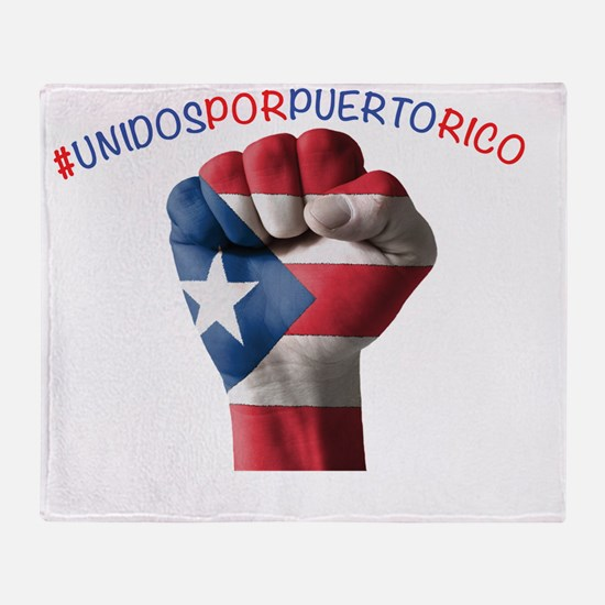 Cute Puerto rican Throw Blanket