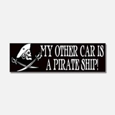 My other car is a broom Car Magnet 10 x 3