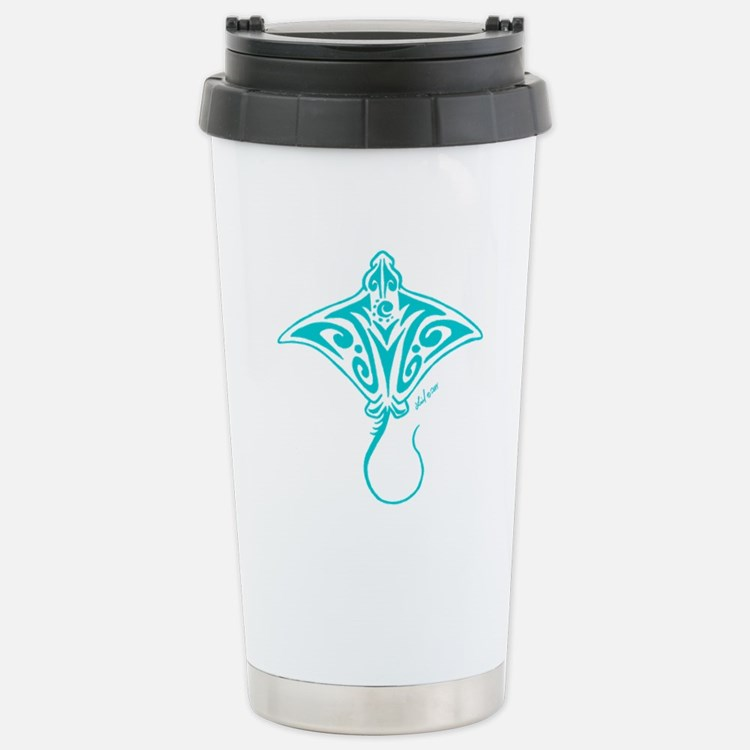 Hihimanu blue Travel Mug