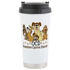 OCD Obsessive Canine Di Travel Coffee Mug