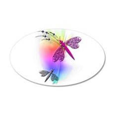 Dragonfly Delight Wall Decal