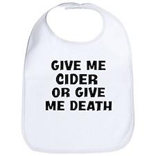 Give me Cider Bib